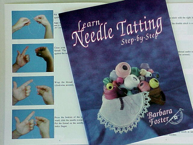Learn Needle Tatting With My Flower Pendant: 8 Steps (with ...